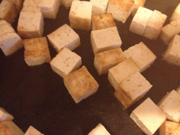 Tofu cooking