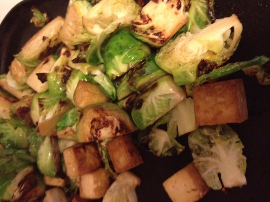 Brussels and tofu